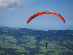 Verder met paragliden na je eerste week